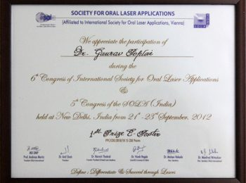 07 Society For Oral Laser Applications